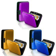 Multi-Color Aluminum Card Box Business ID Credit Holder Storage Case Card Wallet