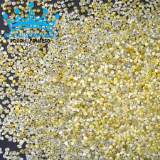 5,10 cts lots Natural Loose Rough Diamonds SPARKLING CANARY YELLOW Uncut 1.00mm
