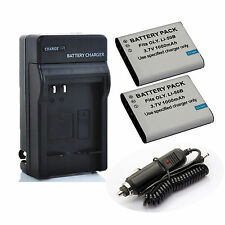 LI-50B LI50B  Battery / Charger for Olympus SP-720UZ SP-800UZ SP-810UZ