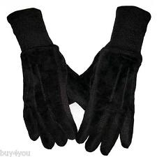 Suede Men's Leather Gloves Leather Acrylic Gloves Winter Men's Gloves