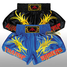 Popular Gym Muay Thai Boxing MMA Soft Satin Shorts Competition Exercise Trunks