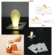 Lovely Portable Pocket LED Card Light Lamp Put In Purse Wallet Convenient Light