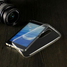 Ultra Thin Clear Crystal Rubber TPU Soft  Case Back Cover For Motorola Moto