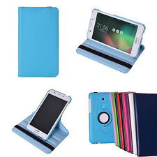 360 Degree Rotating Flip Folio PU Leather Case Cover with Stand for ASUS Tablet