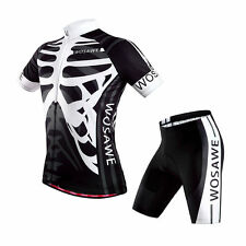 New Sport Cycling Bike Comfortable Clothing Jersey Shirts + Short Pants All Size