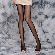 Lady Sexy Open Toe Ultra-Thin Transparent Tights Socks Pantyhose Skinny Stocking