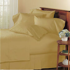 NEW BRAND TAUPE 1000TC EGYPTIAN COTTON COMPLETE BEDDING COLLECTION SHEET SET