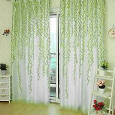 1pc Sheer Voile Window Curtain Panel drape Sheer Panel Scarf Valances Home Decor