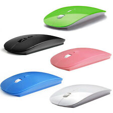 Hot 2.4GHz USB Wireless Optical Mouse Mice for Apple Mac Macbook Pro Air 5 Color