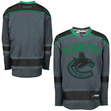 Vancouver CANUCKS Reebok Premier Officially Licensed NHL Cross Check Jersey,