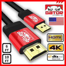 Mini HDMI Male to HDMI Male Type C Gator Cable Adapter HDTV DV 1080p 6ft 10ft
