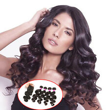 Brazilian Body Wave Hair 4 Bundles With Closure Human Virgin Hair Unprocessed 7a