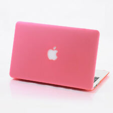 Pink Frosted Hard Case Cover Skin For Macbook Air Pro 11 12 13 15 '' Retina
