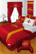 NCAA Iowa State Cyclones Sidelines Comforter AND Matching Sheet Set ALL SIZES