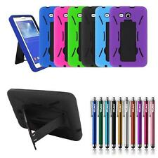 For Samsung Galaxy Tab 3 Lite 7.0 SM-T113/T116 Armor Box Case Stand Tablet Cover