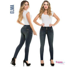NEW Women Colombian Levanta Cola Push Up Jeans Skinny Denim Butt Lifter Pants