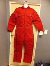 Walls Insulated Red Coveralls Blizzard Pruf 15170
