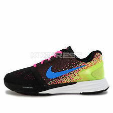 Nike Lunarglide 7 GS [747966-004] Running Black/Photo Blue-White-Volt