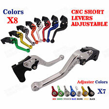 CNC Short Brake Clutch Levers for Triumph Sprint ST/RS 04-09 Sprint GT 11 12-15