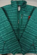 New Patagonia Women's Ultralight Down Jacket 100% Authentic Medium Green