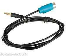 KCE-237B 3.5MM AUX LEAD CABLE Replace KCE-433iV for IPOD MP3 ALPINE Ai-NET
