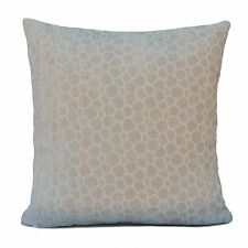 Off White (Ivory) Velvet Decorative Throw Pillow Cover with pattern,Toss pillow