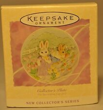 Hallmark - Gathering Sunny Memories - Collector Plate - 1994 Easter Collection