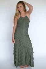 New Free People FP X Cascading Waterfall Maxi Dress Style# 31148059