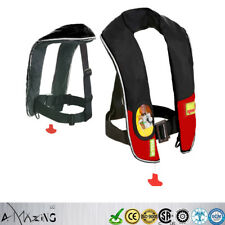 A+Quality Inflate Inflatable Life Jacket Vest  Buoyancy Aid PFD Automatic/Manual
