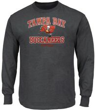 Tampa Bay Buccaneers NFL Mens Touchback Long Sleeve Shirt Big & Tall Sizes