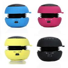 Mini Hamburger Stereo Speaker for iPhone iPod Laptop PC MP3 Audio Amplifier V2P9