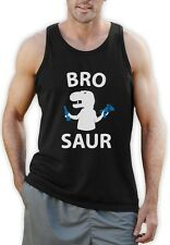 BRO SAUR - Gift For Brother Funny Cool T-Rex Singlet Raptor