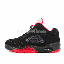 Nike Air Jordan 5 Retro Low [819171-001] Basketball Bred Black/Red