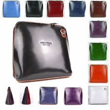 Handbag Vera Pelle Italian Leather Small Shoulder Bag Ladies Designer Fashion