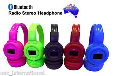 N65CBT Bluetooth Radio Stereo Headphones with Mic for iPhone /Android /PC/ipod