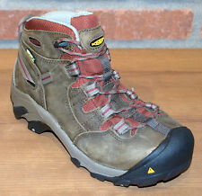 Keen Utility Women's Detroit Mid Steel Toe Safety Boots Brown 1007014