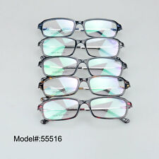 55516 Thin metal temple eyewear TR90 optical glasses women myopia spectacles