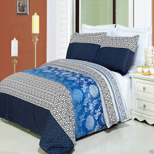 3pc Duvet Cover Bedroom Set -  Cotton Lydia Duvet Comforter Cover