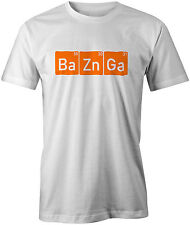 Ba Zn Ga (Bazinga) The Big Bang Theory Sheldon Cooper Geek Funny Joke T-shirt