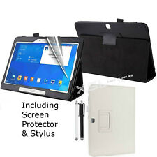 Smart Case Cover Stand + Screen Protector + Stylus for Samsung Galaxy Tablets