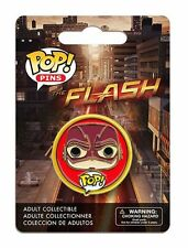 OFFICIAL DC COMICS POP! HEROES THE FLASH (TV SERIES) CARTOON PIN/ BADGE *NEW*