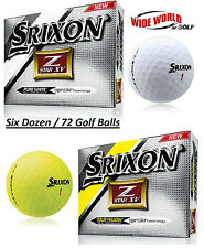 2016 New Srixon Z-Star XV Golf Balls 6 Dozen - Pick Your Color