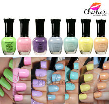 Kleancolor Nail Polish PASTEL 7 Colors Available - Lacquer Collection Full Size