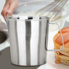 Stainless Steel Coffee Milk Frothing Foam Pitcher Jug Container Cup Kitchen G9L6