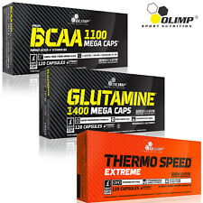BCAA + Glutamine + Thermo Speed Ex 90-180 Capsules Fat Burner Lean Ripped Muscle