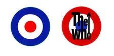 THE WHO MOD TARGET - OFFICIAL  GIANT SEW-ON BACKPATCH patch patches mods