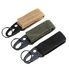 Carabiner Nylon MOLLE Webbing Buckle Key Hook Hanging Belt Buckle T7K5