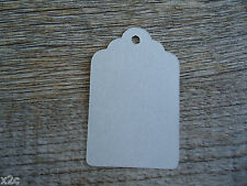 Kraft Grey Gift Swing Tags Small Wedding Favour Party Bomboniere Craft Shop