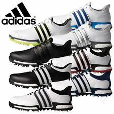 Adidas Tour 360 Boost Mens Leather Waterproof Golf Shoes - Wide Fit