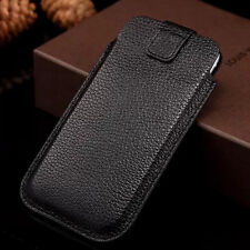 Real Genuine Cowhide Leather Sleeve Pouch Case Cover For Apple iPhone 6 6S Plus